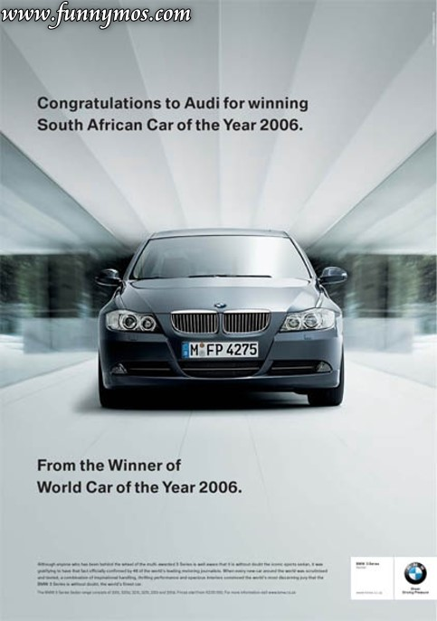 Bmw Quotes Enchanting Bmw Audi & Subaru Ads  Funnymos  Funny News And Weird Humor