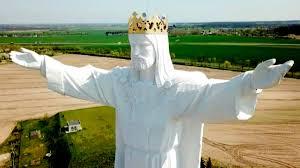 Giant Jesus in Poland