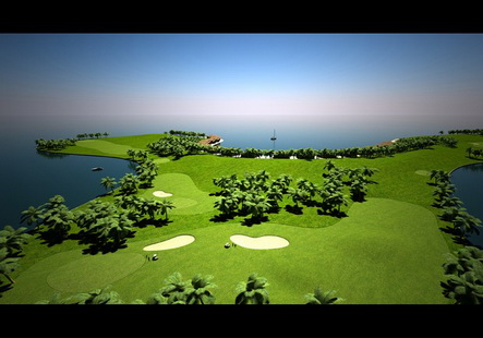 tempat golf paling mewah