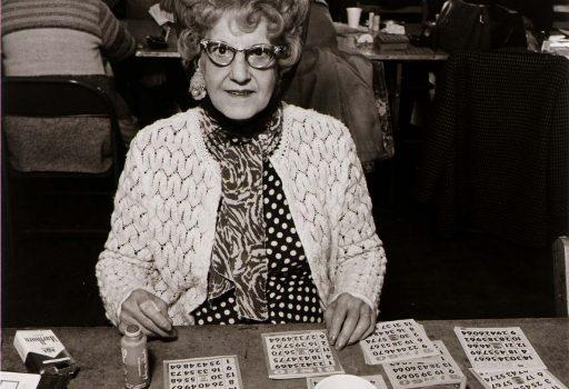 GRandma playing bingo
