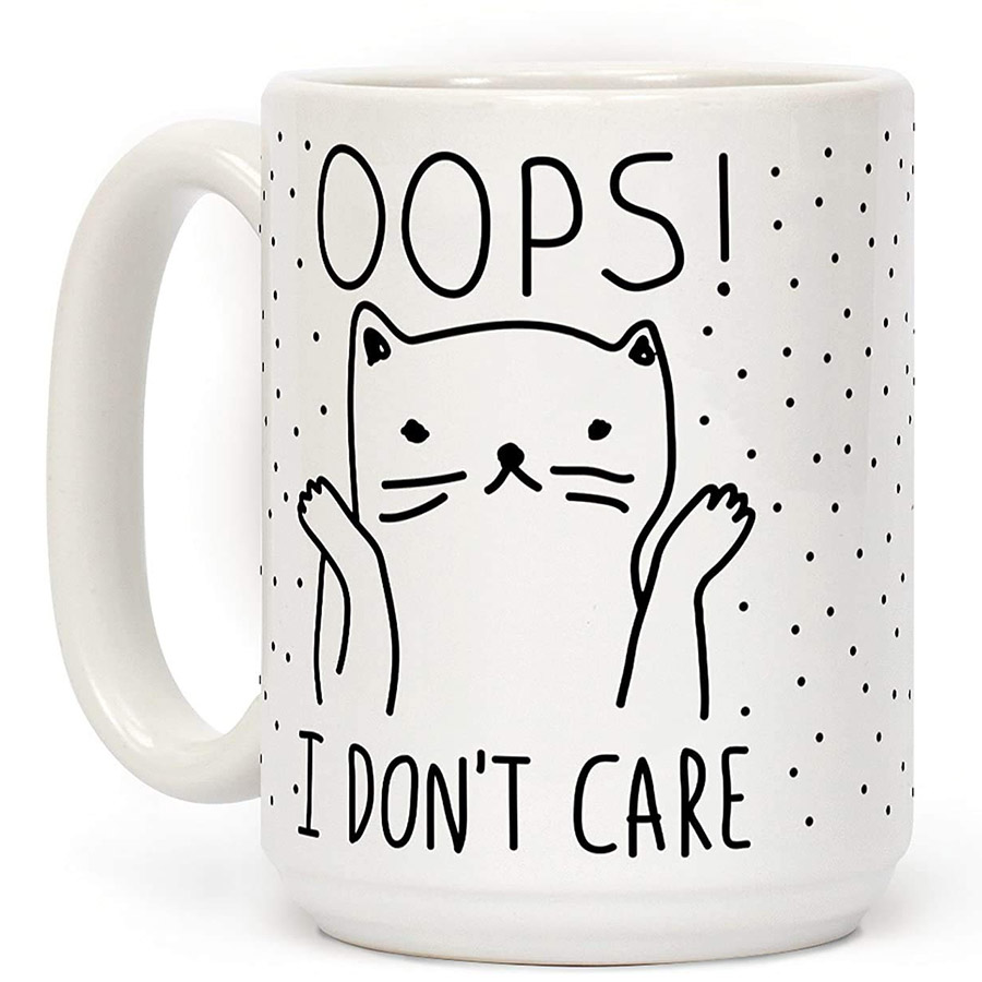 cute kitty mug
