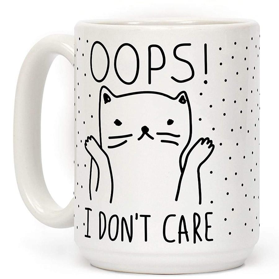 cute kitty mug