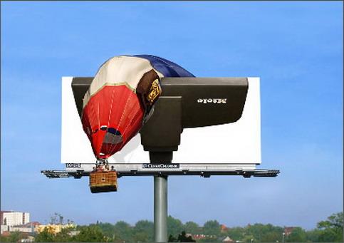balloon - View funny advertising photos