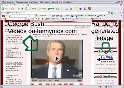 george bush idiot