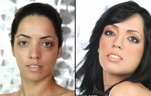 power of makeup woman