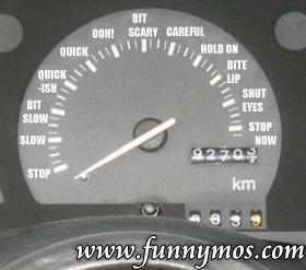 funny women speedometer picture