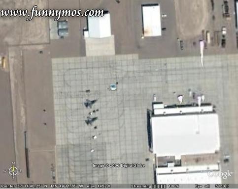 Google Earth Aliens april fools