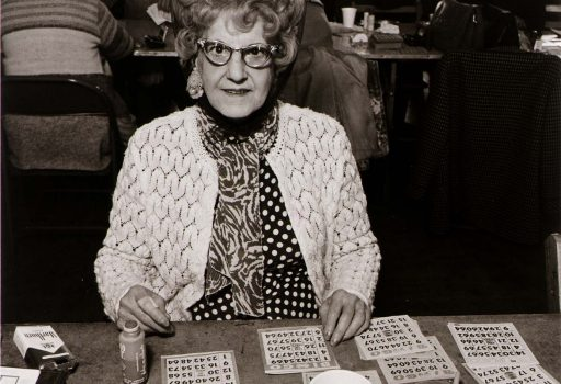GRandma playing bingo