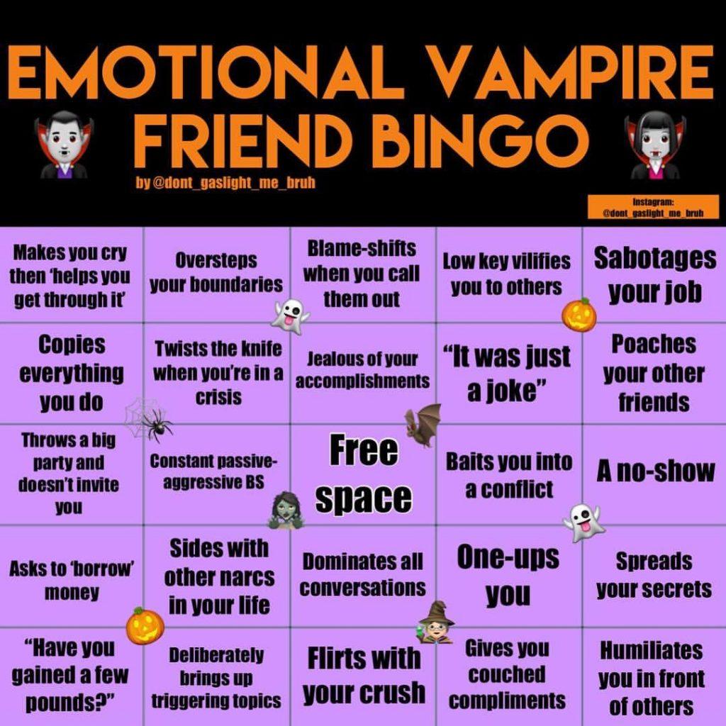 vampire bingo funny pictures