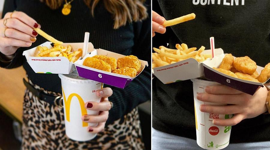 fast food hack