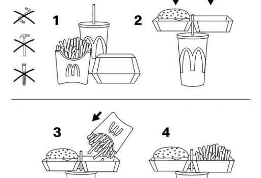 fast food eating trick